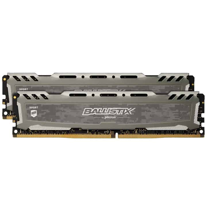 RAM: Crucial Ballistix 8GB RAM