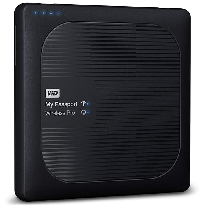 WD My Passport Wireless Pro Portable External Hard Drive